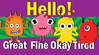 Hello Song | Hello How Are You | Hello Song for Kids | Kindergarten & ESL | Fun Kids English