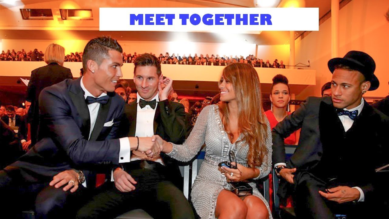 Lionel Messi And Cristiano Ronaldo Meet Together   Some ...