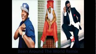 Puff Daddy Feat. Mase & Carl Thomas - Been Around The World (Remix) [Stereo/HQ]