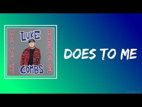 Luke Combs - Does To Me (Lyrics)feat. Eric Church