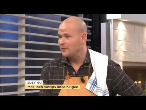 Johan Jureskog lagar blodig kttgryta - Nyhetsmorgon (TV4)