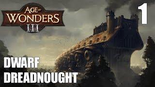 Age of Wonders 3   Dwarf Dreadnought #1