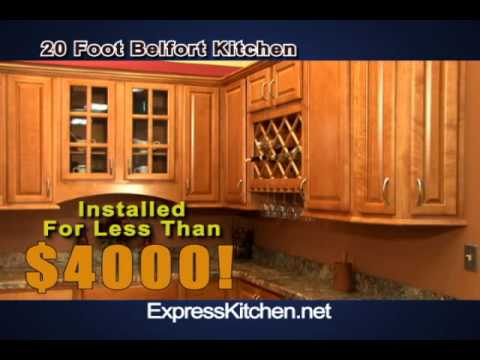 Express Kitchen Cabinets CT - Belfort Kitchen jan2011 tv30 - YouTube