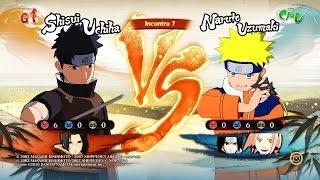 NARUTO SHIPPUDEN: Ultimate Ninja STORM 4 Shisui Vs Naruto Bambino