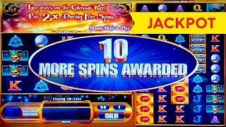 JACKPOT HANDPAY! Colossal Wizards Slot - $20 | $50 Bets - RETRIGGER BONUS!