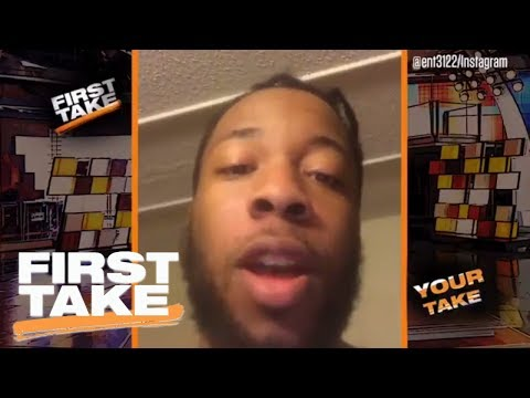 'Your Take' On LeBron James' Nickname And Kobe Bryant's Rings | First Take | May 24, 2017