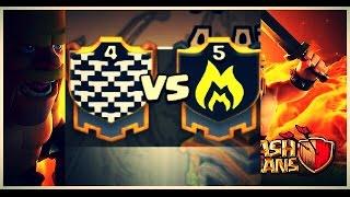 Clash of Clans Clan war N.A.G.Y vs God of war #2