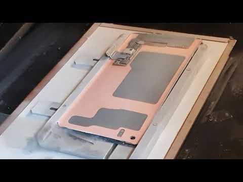 Переклейка замена стекла Samsung S10 G973 часть1