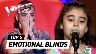 MOST EMOTIONAL Blind Auditions of The Voice Kids