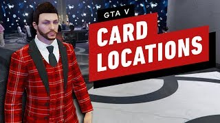 Grand Theft Auto Online Playing Card Locations