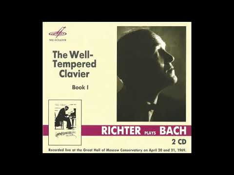 Sviatoslav Richter - J.S.Bach - The Well-Tempered Clavier, Book I