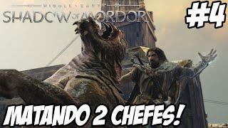 PS4   SOMBRAS DE MORDOR #4 - Matando Dois Chefões! (Shadows of Mordor) [PT-BR]
