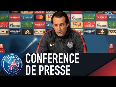 Paris Saint-Germain press conference PARIS SAINT-GERMAIN vs CELTIC GLASGOW