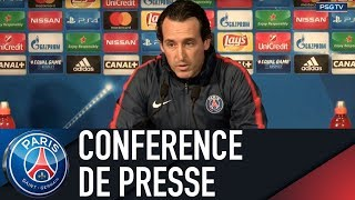 Paris Saint-Germain press conference PARIS SAINT-GERMAIN vs CELTIC GLASGOW