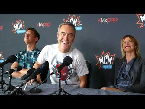 Stan Lee's Lucky Man  Sienna Guillory, James Nesbitt and Stephen Hagan @ Comic Con