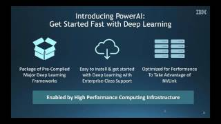 PowerAI World's Fastest AI Platform for Enterprise