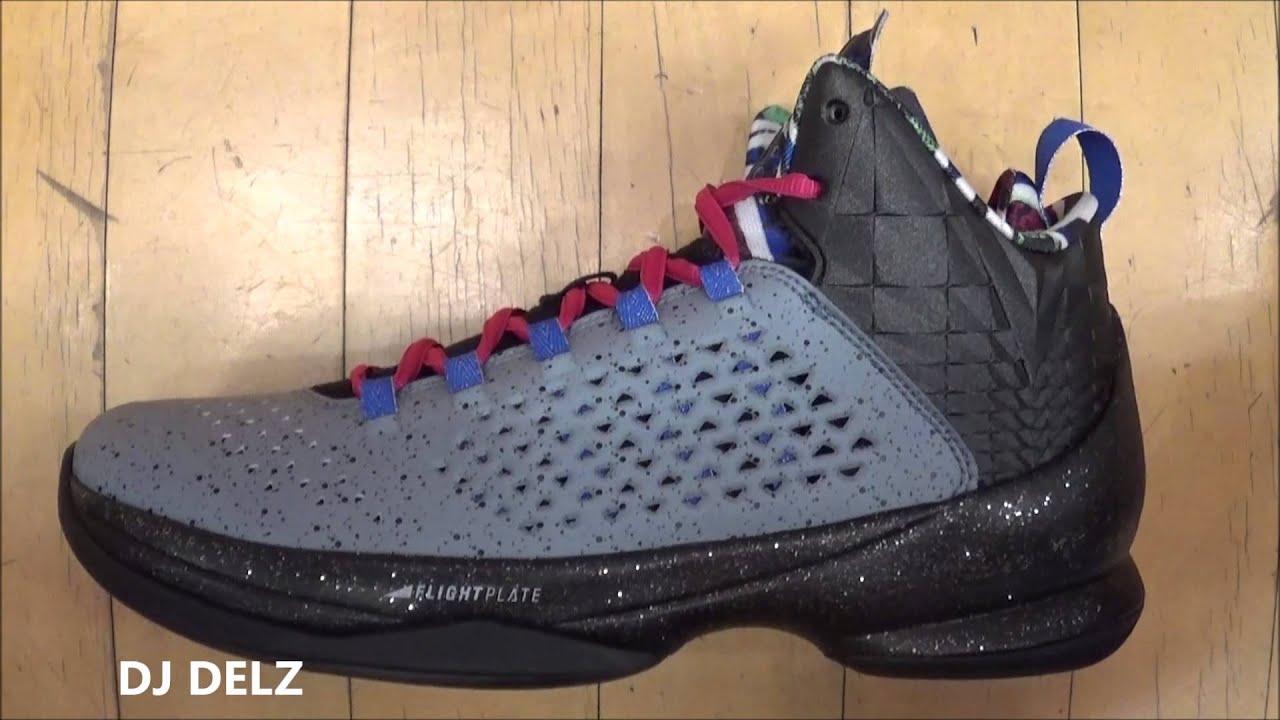 5429ea6a38c Air Jordan Melo M11 Concrete Jungle Carmelo Anthony Sneaker Review W    DjDelz  HotOrNot