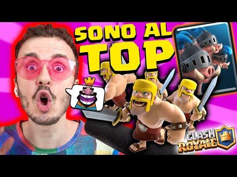 MAIALI E SFIDA DEI BARBARI: TOP! - Clash Royale