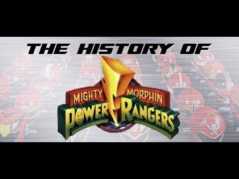 Mighty Morphin' Power Rangers Season Two - History of Power Rangers