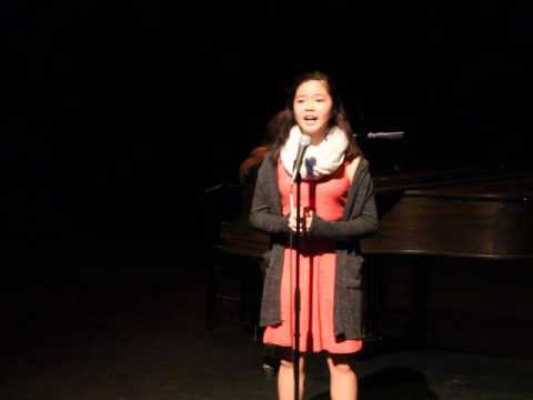 Rachel Chan performing Change in Me from Beauty and the Beast