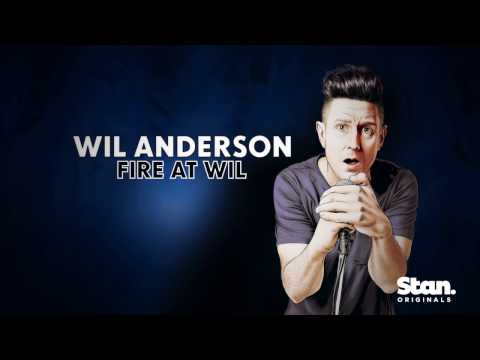 #OneNightStan Fire at Wil by Wil Anderson - now streaming. Only on Stan. (15s)
