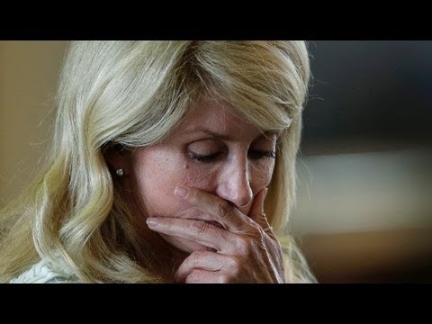 Wendy Davis attempted filibuster in Texas