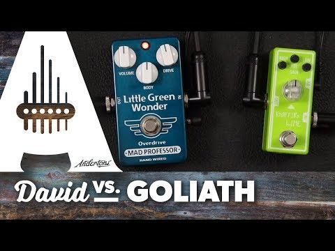 David vs Goliath - Tone City Kaffir Lime vs Mad Professor Little Green Wonder