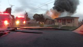 House On Fire Explodes!