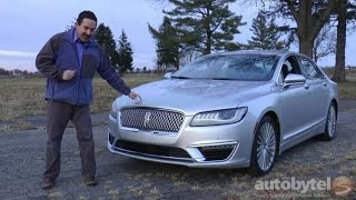*SLEEPER of the YEAR* 2017 Lincoln MKZ Reserve 3.0T Test Drive Video Review