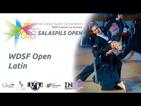 Final Reel | WDSF Open Latin | Salaspils Open 2018