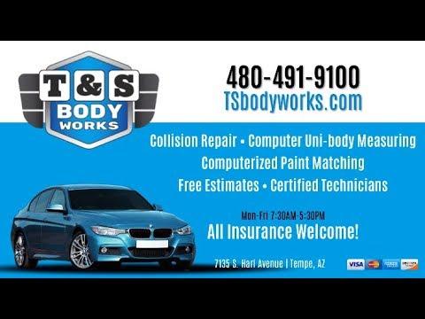 T S Body Works Phoenix Az Auto Body Repair