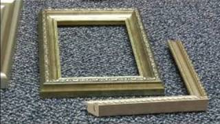 How To Pick Picture Frame Molding : How To Use Polystyrene Picture Frame Molding