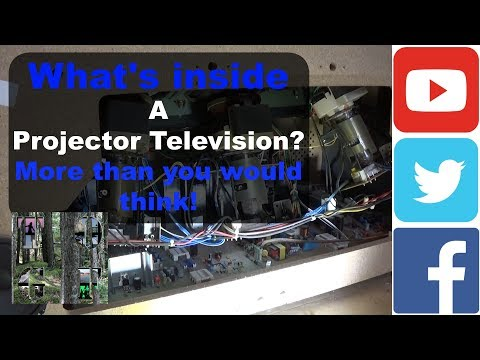 Whats inside a Projector Television? | Much more than you would think! |