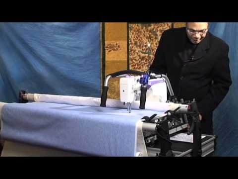 Janome 1600P-QC Long Arm Sewing Machine with Grace Frame - Part 2 ...