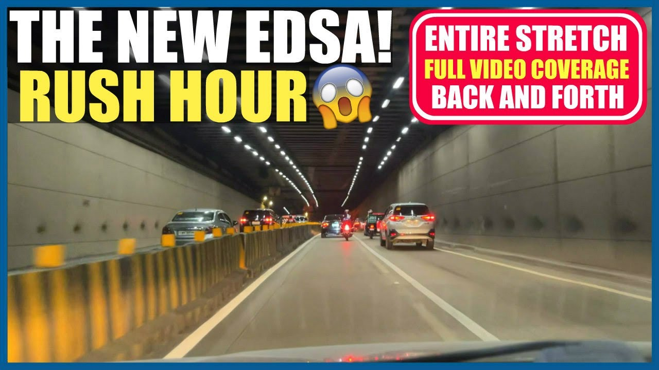 THE NEW EDSA! | FULL DRIVE VIDEO COVERAGE DURING RUSH HOUR | MONUMENTO TO MOA BACK TO MONUMENTO!