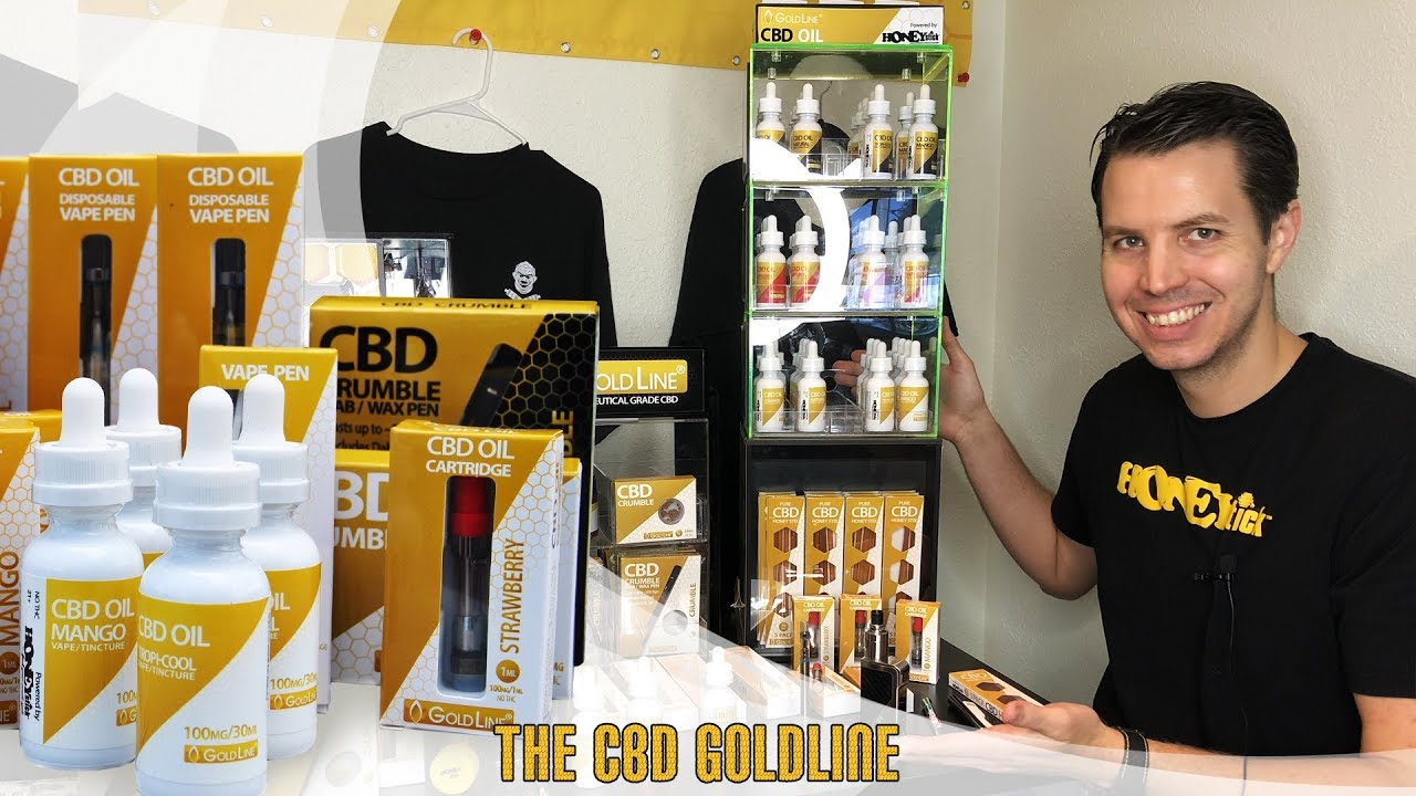 CBD Goldline: Full Spectrum Extract CBD Crumble, CBD Oil Tinctures,  Edibles, Pre-filled Cartridges