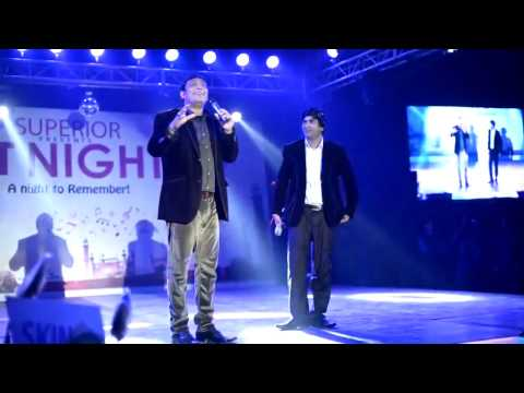 Sajan Abbas and Shahid Khan in Superior ET night 2016