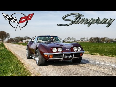 Corvette C3 Stingray SIDE PIPES 350 V8 LOUD SOUND by AutoTopNL