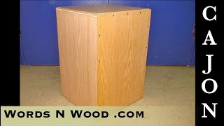 Project Build: Cajon - making it out of THIN plywood (WnW 8)