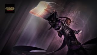 League Of Legends - Lucian vs bots First game