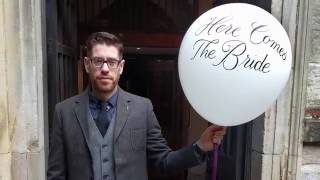 Calligraphy on a Wedding Balloon | Letter Everything #06