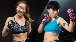 Angela Lee vs. Xiong Jing Nan 2 | All Finishes | ONE Highlights