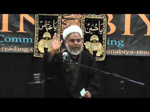 Moulana M Hassan Marufi Muharram 2014 Majlis 8
