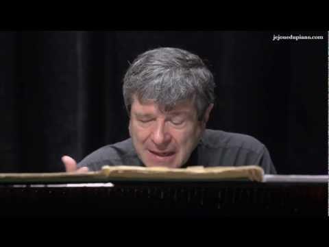 Cours de piano - Oiseaux Tristes de Ravel - Jacques Rouvier