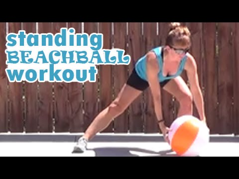 15 Minute Standing Beachball Workout