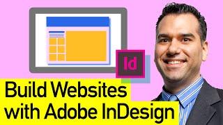 Adobe InDesign No HTML Website: Adobe InDesign Interactive PDF Website, No HTML Needed!