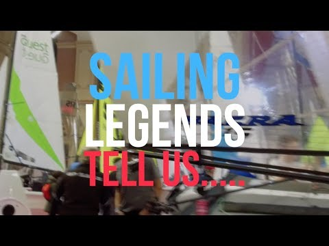 Sailing Legends tell us Why to Visit the RYA Dinghy Show 2019 - Olympic Gold Medallists