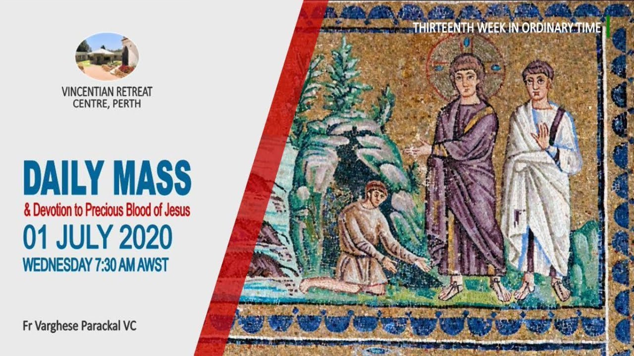 Daily Mass 01/07/2020 - Live - Fr.Varghese