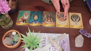 Simple Spread: Angels and Ancestors Oracle Cards