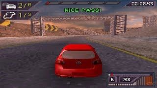 Need for Speed: ProStreet Nintendo DS Gameplay HD (DeSmuME)